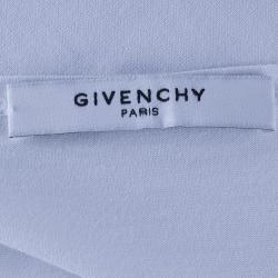 Givenchy White Skull Oversized Top S