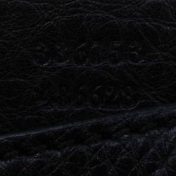 Gucci Black Leather Soho Clutch