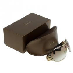 Gucci Brown GG 2738/S Buckle Detail Sunglasses