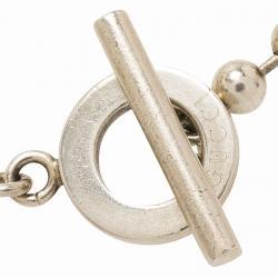 Gucci Boule Chain Silver Bracelet