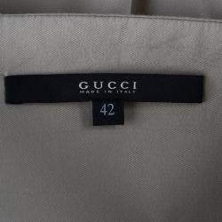 Gucci Beige Sleeveless Top M
