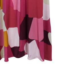 Issa Pink Abstract Print Jersey Maxi Dress M