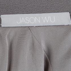 تنورة جيسون وو حرف A رصاصي M