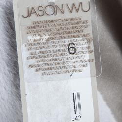 جاكيت جيسون وو صوف رصاصي فاتح M