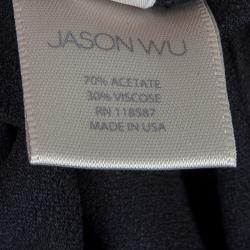 تنورة ميدي جيسون وو بطيات  سوداء M