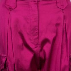 Just Cavalli Fuschia Pink Pocket Detail Pants