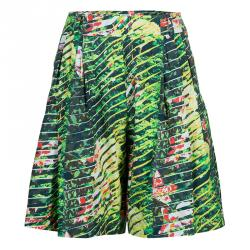 Kenzo Multicolor Printed Shorts L