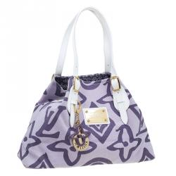Louis Vuitton Purple Limited Edition Tahitienne Cabas PM Bag