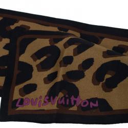Louis Vuitton Brown Leopard Bandeau