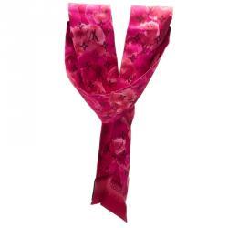 Louis Vuitton Rose Indien Summer Ikat Silk Bandeau