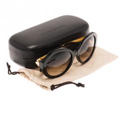 Louis Vuitton Brown Glitter Petit Soupcon Round Sunglasses