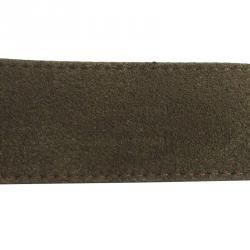 Louis Vuitton Force Black Leather Bracelet