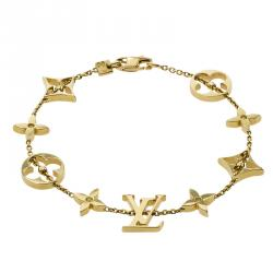 Louis Vuitton Idylle Blossom Yellow Gold Bracelet 18 CM