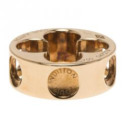 Louis Vuitton Empreinte 18k Rose Gold Pendant