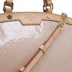 Louis Vuitton Baby Pink Monogram Vernis Brea MM
