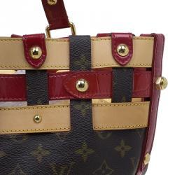 Louis Vuitton Monogram Canvas Limited Edition Rubis Salina Tote GM