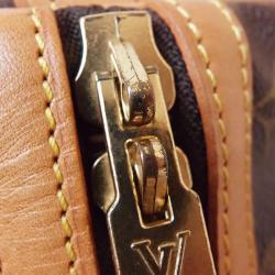 Louis Vuitton Monogram Canvas Sac Souple Duffle Bag 35