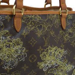 Louis Vuitton Gold Limited Edition Dentelle Batignolles Horizontal Bag