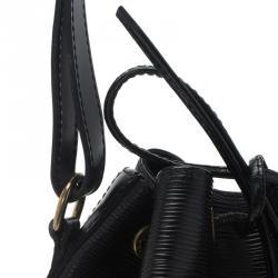 Louis Vuitton Black Epi Leather Noe Bag