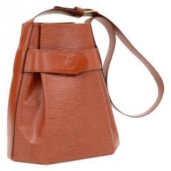 Louis Vuitton Kenyan Fawn Epi Leather Sac D'Epaule PM Bag