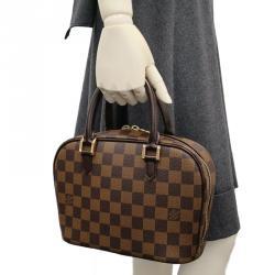 Louis Vuitton Damier Ebene Canvas Sarria Mini Top Handle Bag