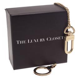 Louis Vuitton Gold Ring Key Chain