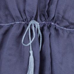 M Missoni Purple Linen Top M