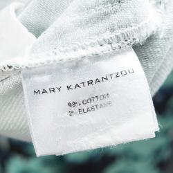 Mary Katrantzou Multicolor Floral Printed Slim Fit Jeans M