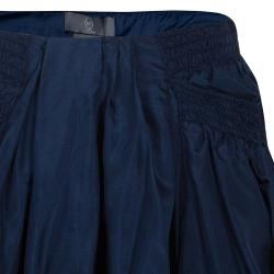 McQ by Alexander McQueen Blue Bubble Skirt S