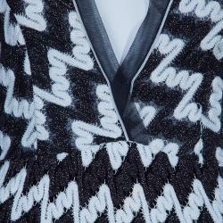 Missoni Monochrome Knit Maxi Dress M