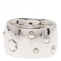 Montblanc Silver Band Ring 50