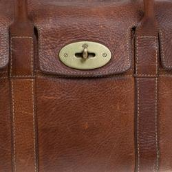 Mulberry Brown Leather Small Bayswater Satchel