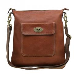 f402d89c93 Sold. Mulberry Brown Leather Seth Messenger Bag