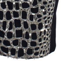 Philosophy Di Alberta Ferretti One Shoulder Embellished Dress M
