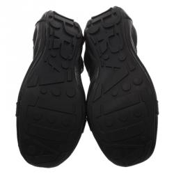 Prada Sport Black Patent Loafer Ballet Flats Size 38.5