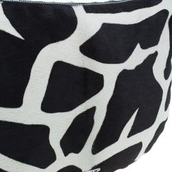 Prada Animal Print Calf Fur Shoulder Bag