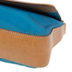 Prada Ocean Blue Nylon Shoulder Bag