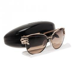 Roberto Cavalli Gold Mururoa Sunglasses