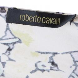 Roberto Cavalli Yellow Multicolor Top M