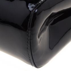 Saint Laurent Paris Black Patent Leather Le Sixieme Shoulder bag