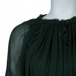 See by Chloe Green Maxi Dress L