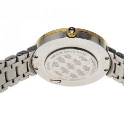 Swarovski White Stainless Steel Lovely Crystal Women's Wristwatch 35MM