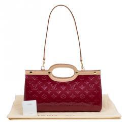 Louis Vuitton Pomme D Amour Monogram Vernis Roxbury Drive Bag