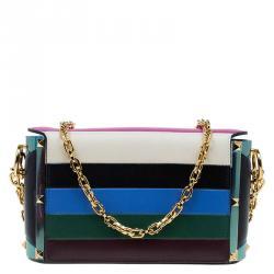 Valentino Multicolor Leather My Rockstud Shoulder Bag