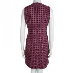 Victoria Victoria Beckham Multicolor Patterned Sleeveless Dress M