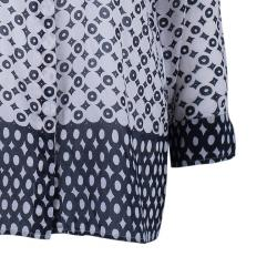 Weekend Max Mara Geometric Print Silk Shirt S