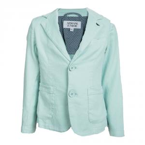 Armani Junior Pastel Green Blazer 6 Yrs
