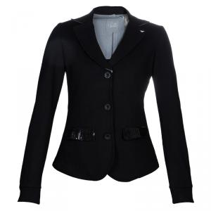 Armani Junior Black Sequin Detail Blazer 14 Yrs