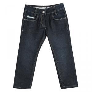 Burberry Indigo Dark Wash Denim Jeans 4 Yrs
