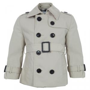Burberry Children Beige Belted Trench Coat 2 Yrs